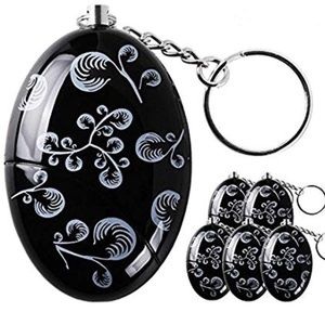 Decorative Keychain Handheld Security Alarm